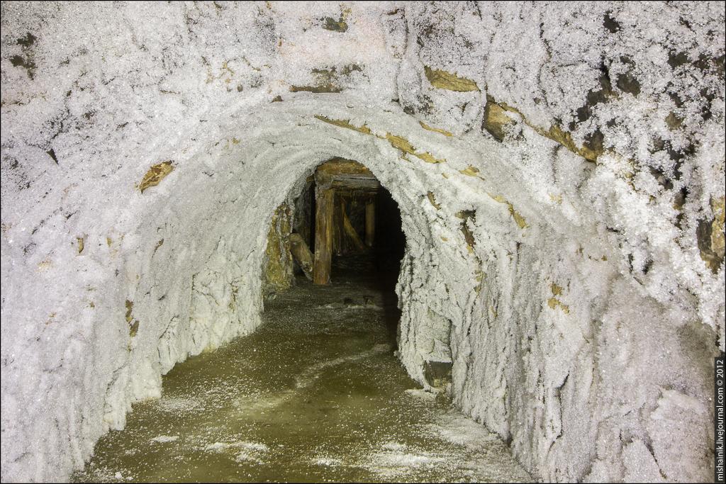 Медный рудник XVIII века на Урале