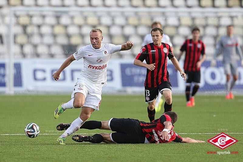 «Амкар» vs «Спартак» 2:0 Премьер-лига 2014-2015 (Фото)