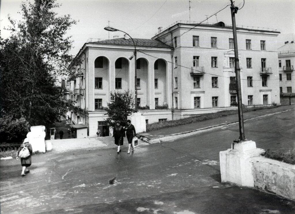 Златоуст. Старые фотографии района машзавода