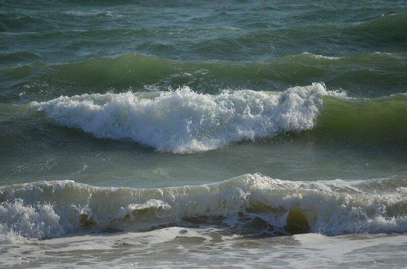океан волнуется