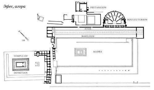 Генплан Эфеской агоры