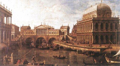 Конкурсный проект на мост Риальто в Венеции Андреа Палладио