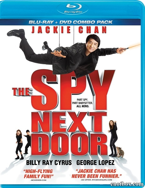 Шпион по соседству / The Spy Next Door (2010/BDRip/HDRip)