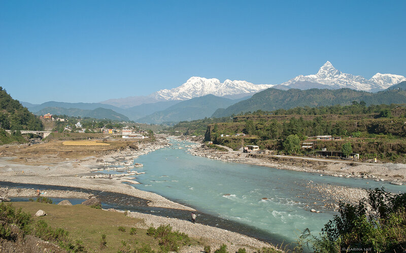 Непал. Долина реки Seti Gandaki