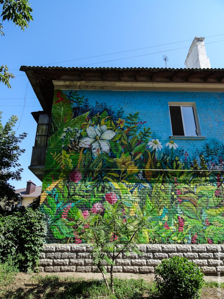 граффити, белгород, арт, объект, стрит, стена, лисич