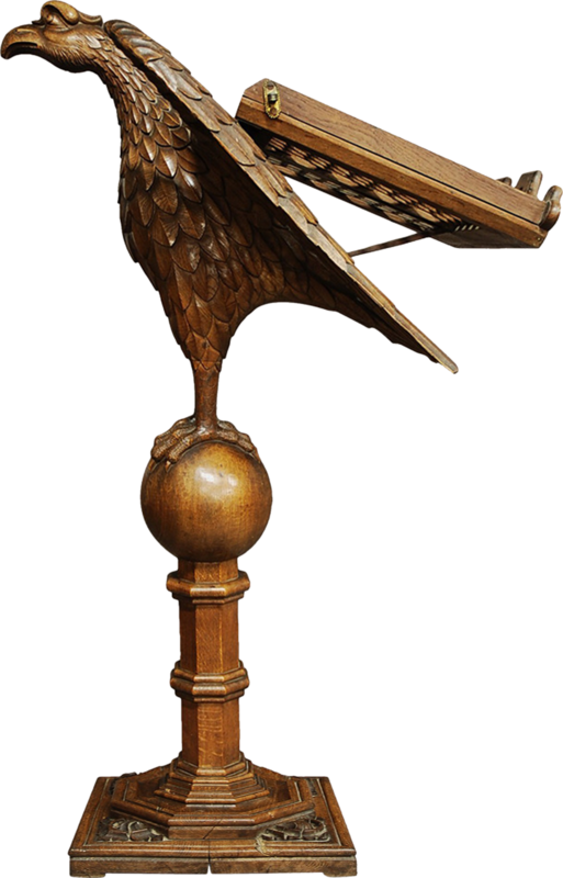 dkerkhof - libby the librarian - eagle lecturn.png