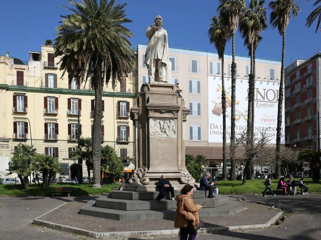 Naples. The Area Of Vittoria (Piazza Vittoria)