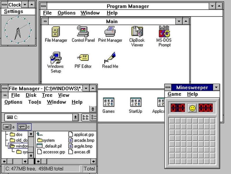 22 мая 1990 года Windows 3.0 начала выходить с пакетом Microsoft Office, который включал в себя Word