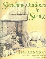 Книга Sketching Outdoors in Spring
