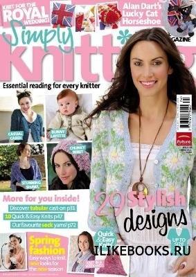 Журнал Simply Knitting №79 2011 Spring
