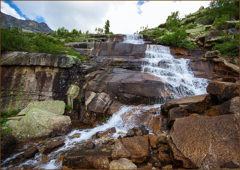 Водопад Тушканчик