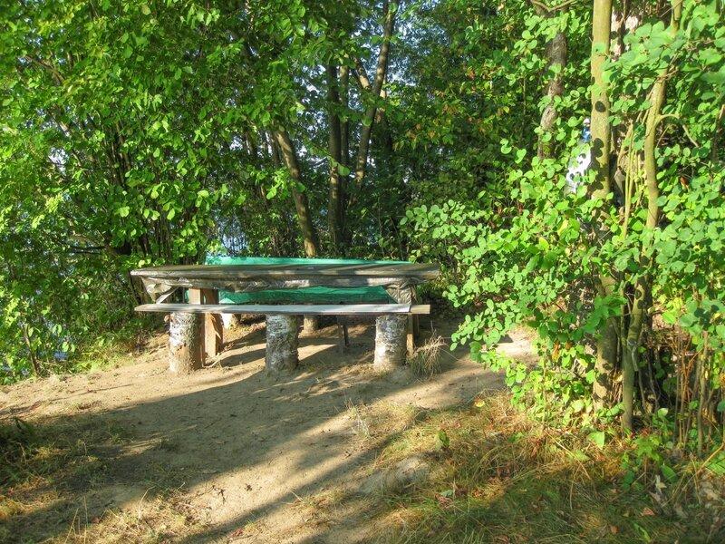 Место для отдыха, Пяловское водохранилище