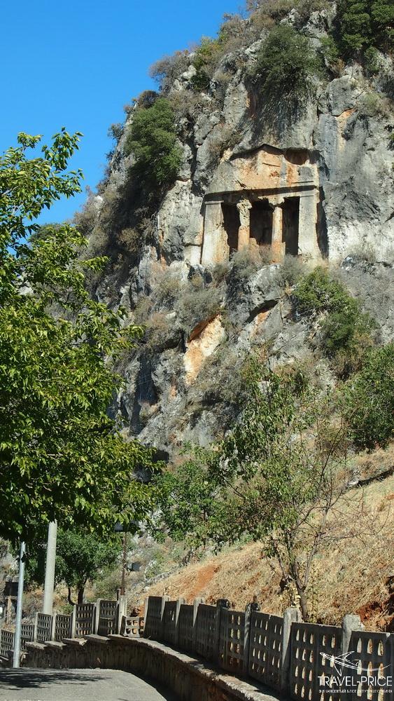 Ликийская гробница Фетхие