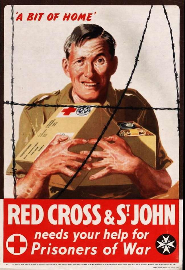 Красный Крест нуждается в твоей помощи для военнопленных - 2 - (Великобритания)
