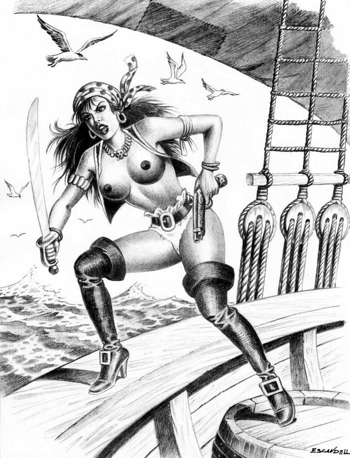 Графика: истории из жизни девушек - пираток (23)