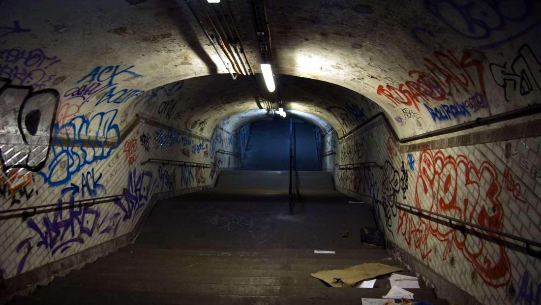 Американский фотограф Christopher Morris: Граффити и андеграунд нью-йоркского метро (40)