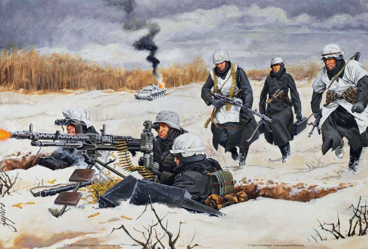Оружие второй мировой войны  Оружие и техника самой
