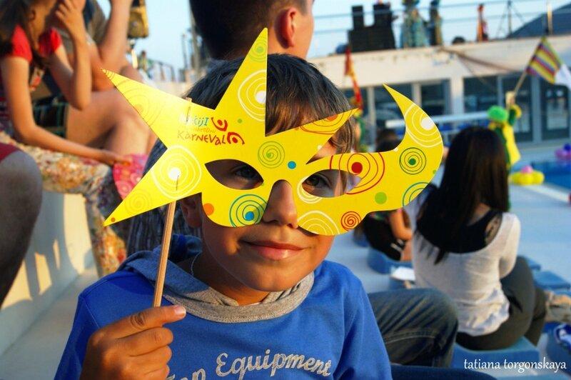 Карнавальная маска для детей