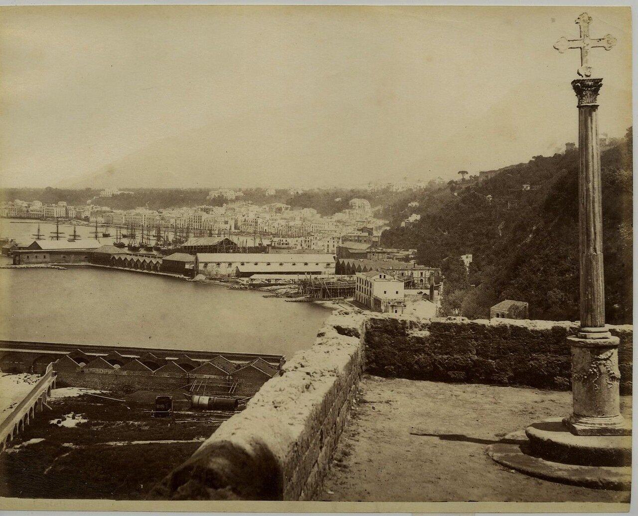 1875. Вид Неаполя из Помпей