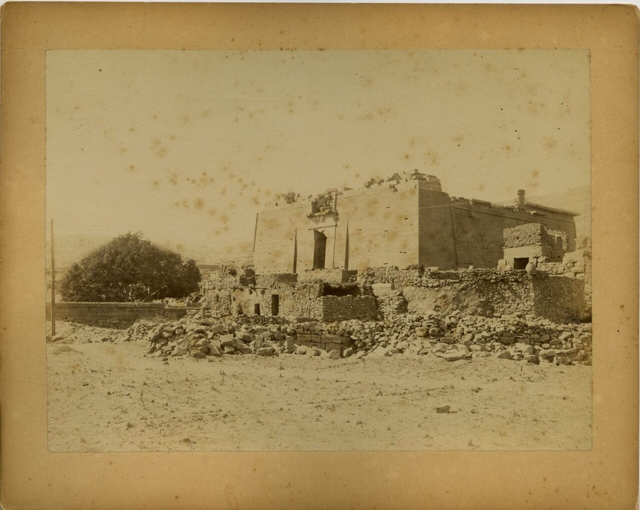 Храм Kalabehé. 1875