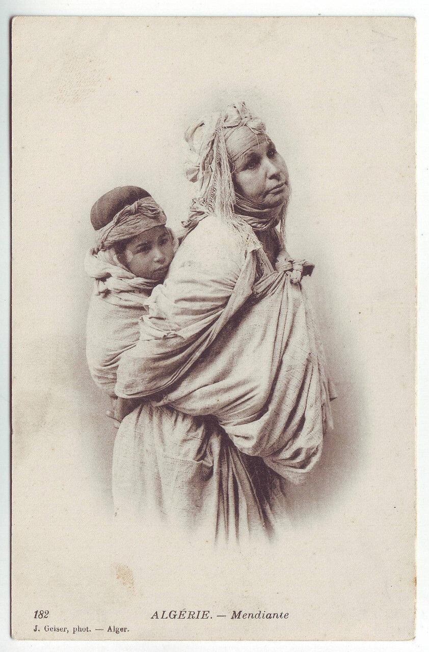 1920-е. Нищая с ребенком