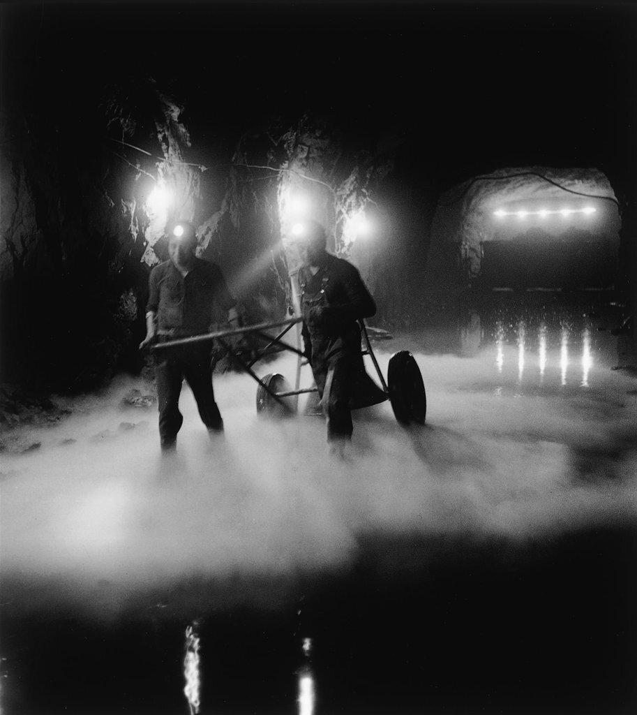 1960. В шахте Мюрвиль