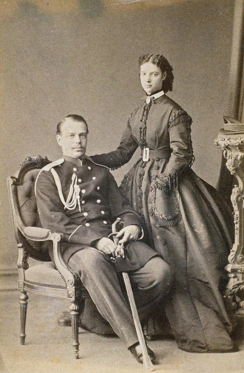 Портрет великого князя Александра Александровича и великой княгини Марии Федоровны