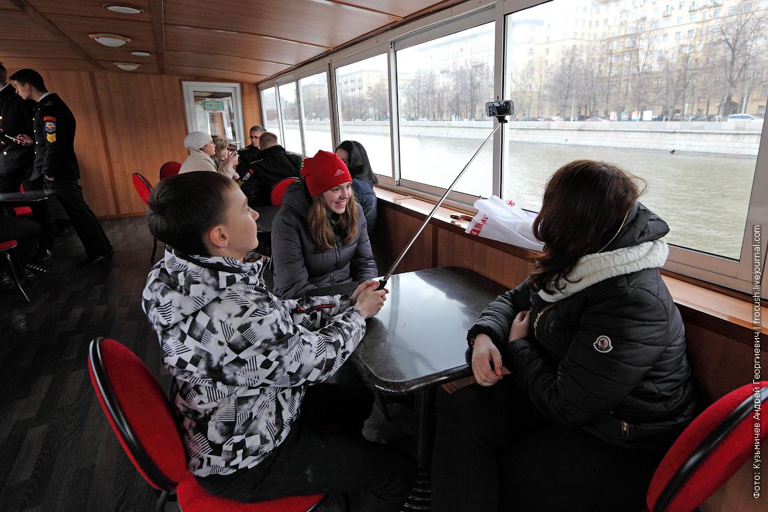 открытие малой пассажирской навигации в Москве