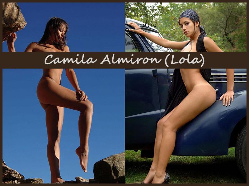 Аргентинская красотка Camila Almiron (Lola)