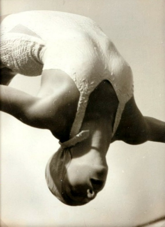 Olympic Champion Dorothy Poynton-Hill, Summer Games, Berlin by Lothar Rübelt, 1936.jpg