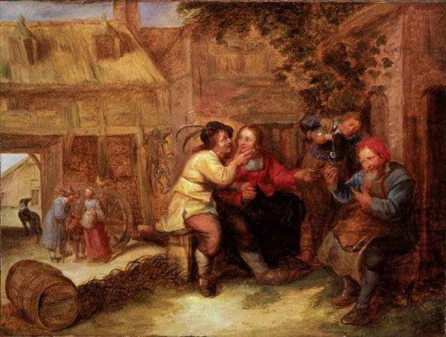 Joos_van_Craesbeeck_-_Peasants_drinking_outside_a_tavern.jpg