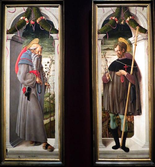 Джорджо Чулинович, прозванный Скьявоне. Святой Иероним. Святой Алессио.