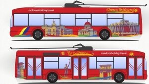 туристический троллейбус
