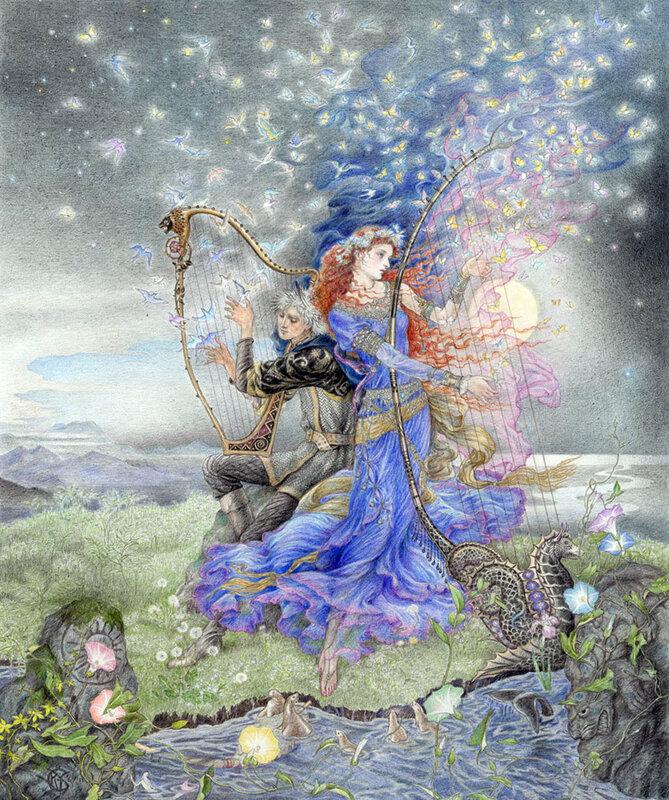 Я – женщина, я плавность моря, тишина заката! Кинуко Крафт - Kinuko Craft