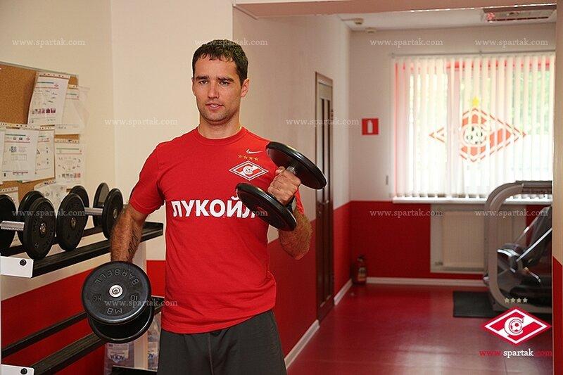 Спартаковцы готовятся к дерби с «Динамо» (Фото)