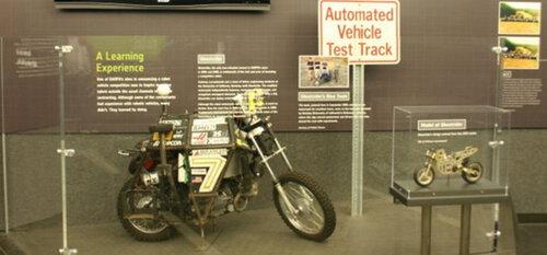 Google разработал беспилотный мотоцикл