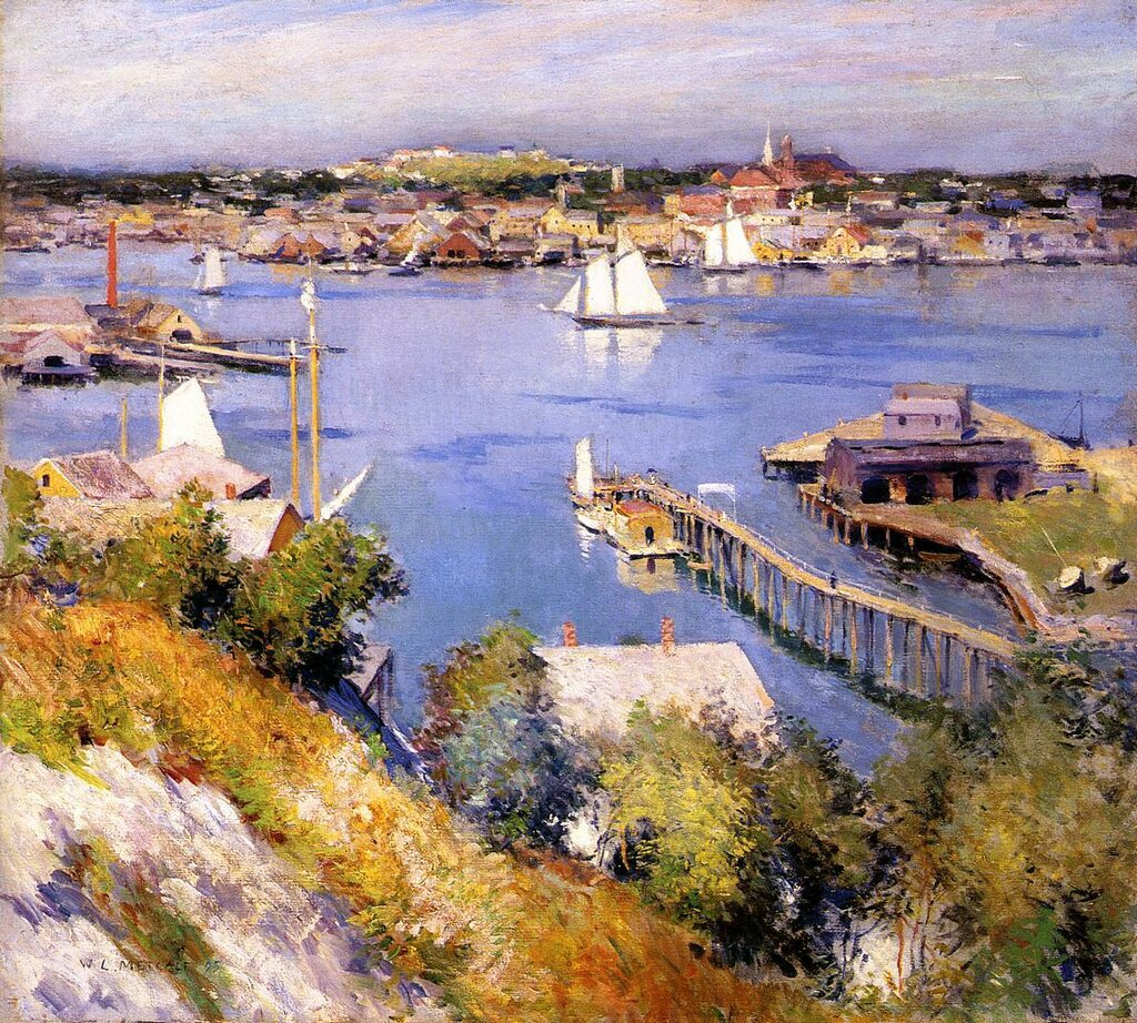 Gloucester Harbor, 1895.jpeg