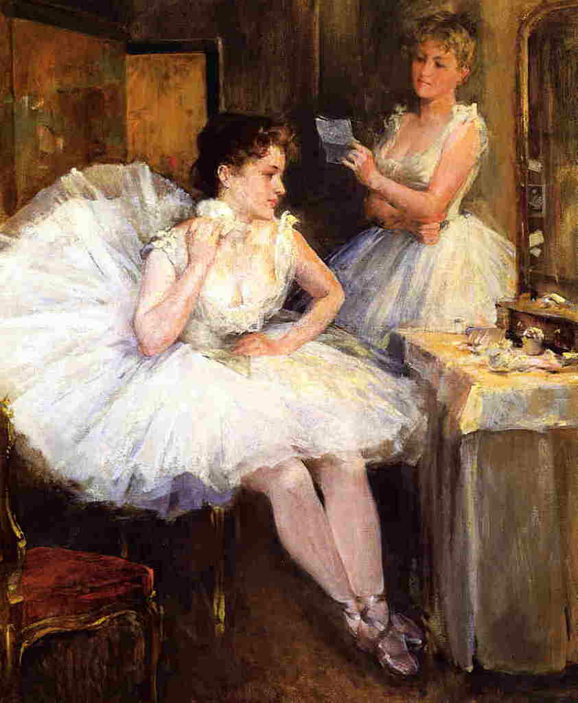 The Ballet Dancers (aka The Dressing Room), 1885.jpeg