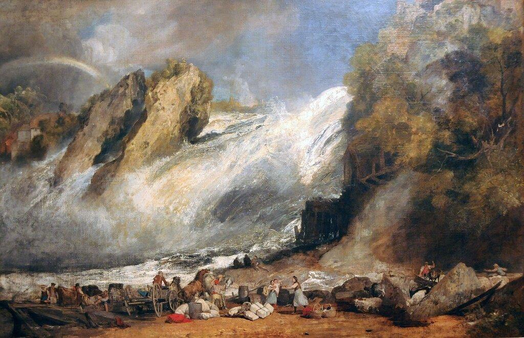 Уильяма тернера фото пожаре севере