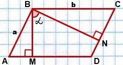 ploshchad-parallelogramma-cherez-ugol-mezhdu-vysotami