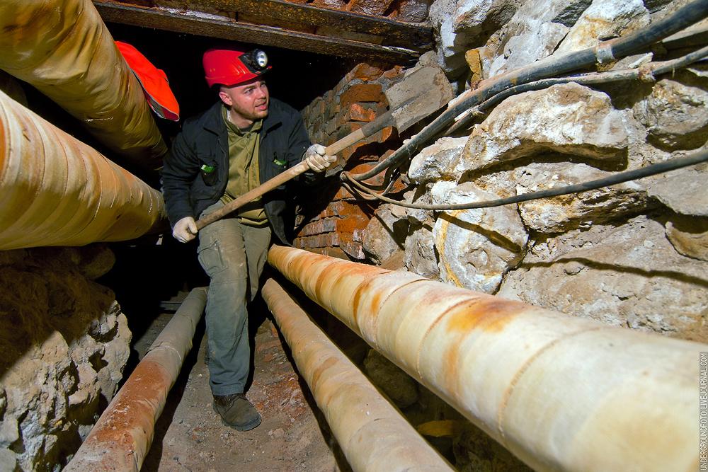 Диггер в подземной Москве