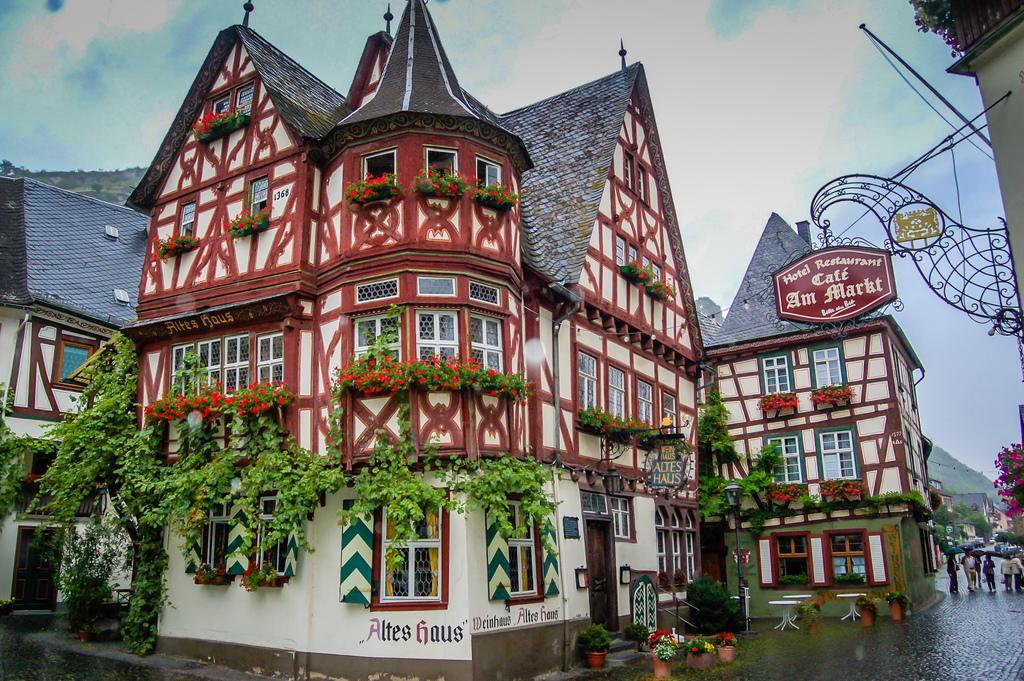 Город бахарах в Германии фото