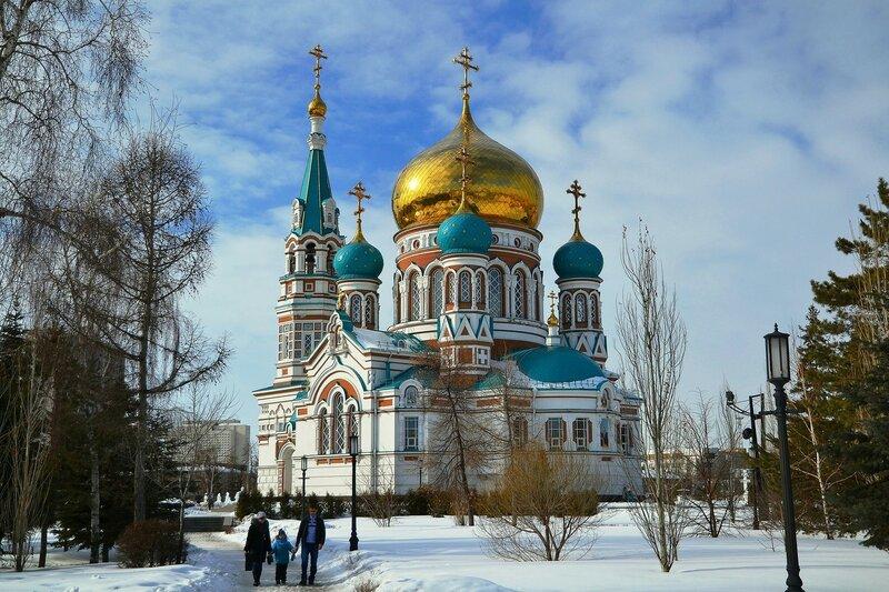 Собор в честь Успения Пресвятой Богородицы. Омск