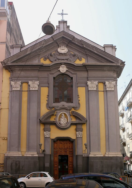 Naples. Church of Santa Maria la Scala (Chiesa di Santa Maria la Scala)
