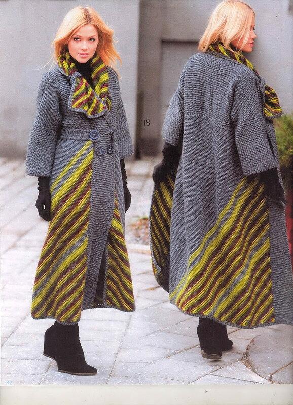 мода вязание бохо