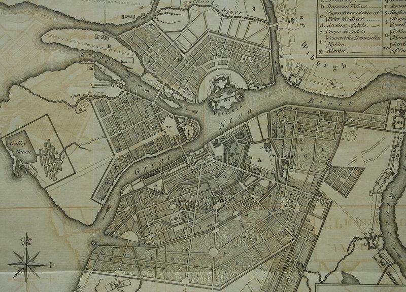 012_План Санкт Петерурга. Лондон. 1784 3.jpg