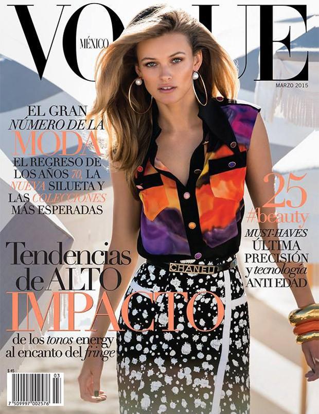 Эдита Вилкевичуте (Edita Vilkeviciute) в журнале Vogue Mexico