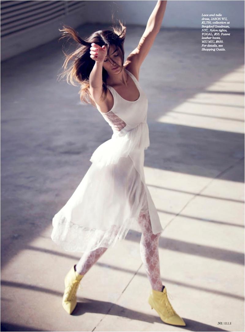 Лили Олдридж украсила майский номер Elle US