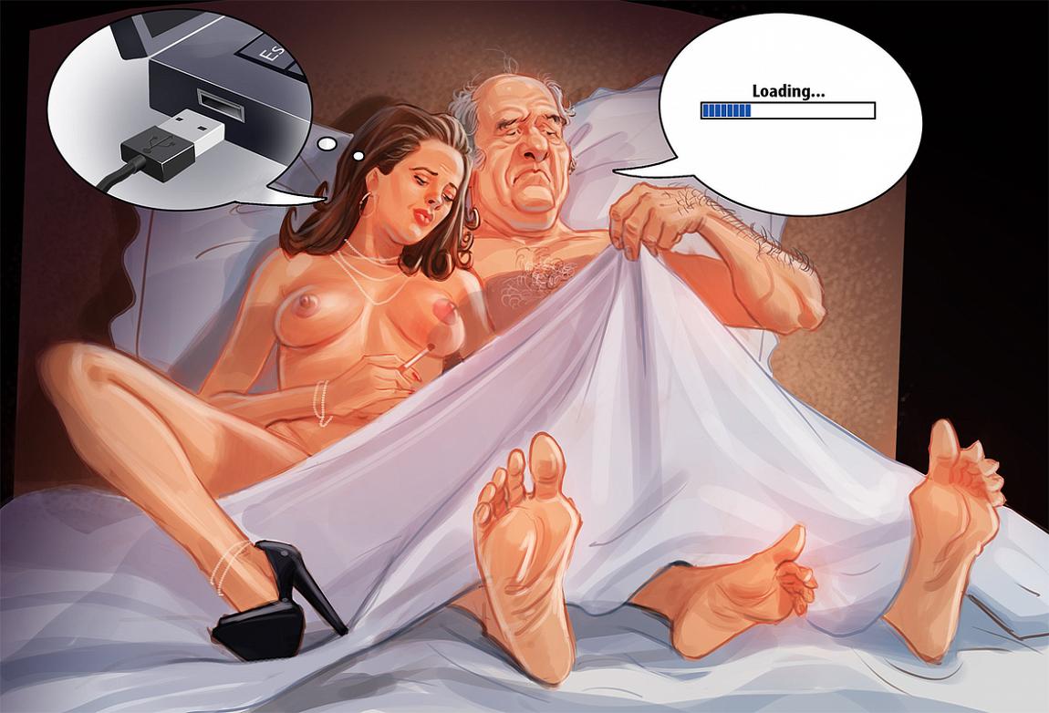 Erotic caricatures hentai scene