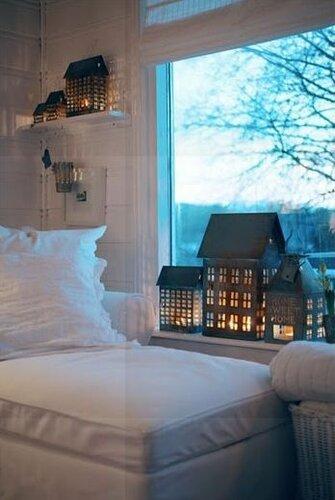 Домики-светильники